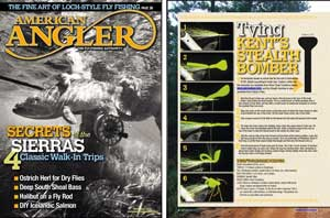 Stealth Bomber - fly tying directions in American Angler magazine